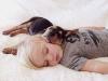 Beau i Theo zasypiają razem o tej samej porze