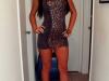 Dziewczyny w obcisłych sukienkach