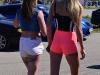 Seksowne dziewczyny w szortach