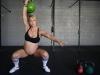 Lea-Ann Ellison na siłowni