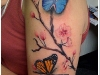 Tatuaże - motyle