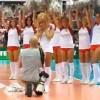 Oświadczył się cheerleaderce w Ergo Arenie