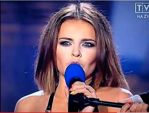 Wpadka Edyty Herbuś podczas ESKA Music Awards