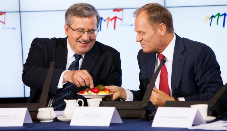 Komorowski, Tusk: Rada Gabinetowa, 15 czerwca 2011