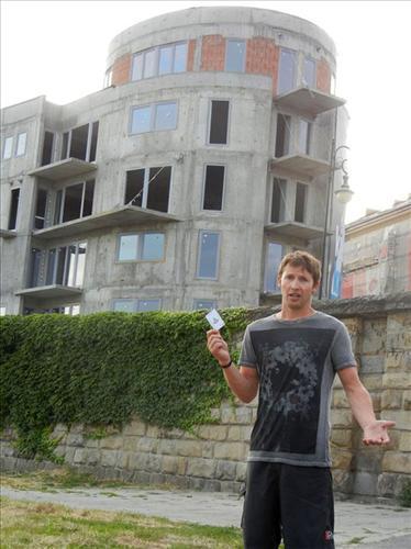 "żart James'a Blunt'a ""Eee ... To mój hotel w Polsce"""