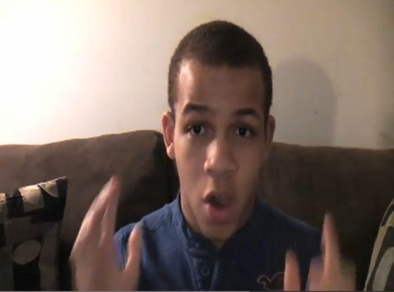 nastolatek zaprasza Justina Biebera na imprezę