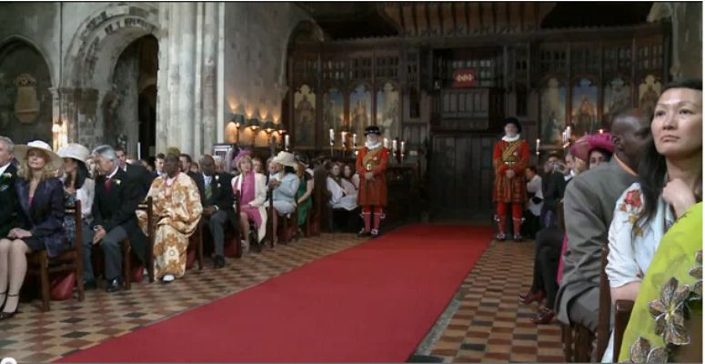 Krolewski taniec slubny dla Kate i Williama