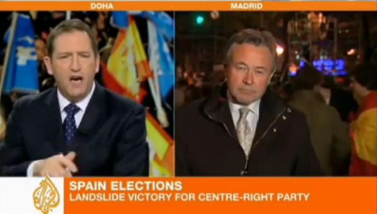 Para gejów na żywo w telewizji Al Jazeera