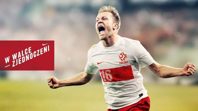Nowe koszulki polskich piłkarzy