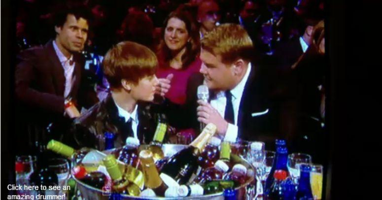 """Bieber macany przez prowadzącego """"Brit Awards"""""""