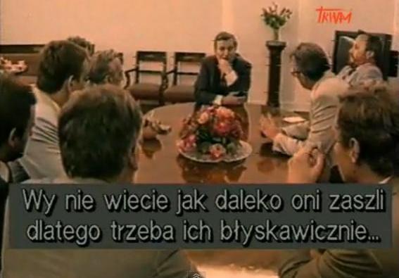 Kadr z filmu Nocna Zmiana