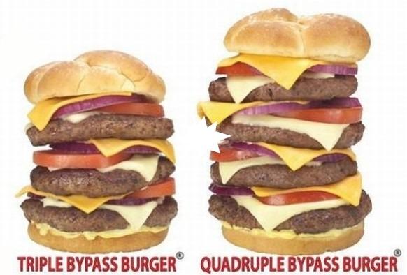 Potrójny Bypassburger