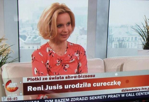 Reni Jusis urodziła cureczkę