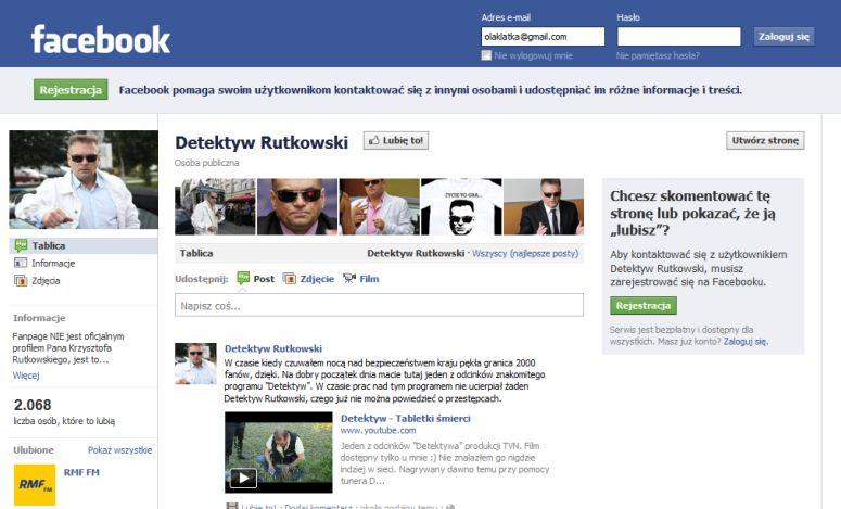 Detektyw Rutkowski, polski Chuck Norris?