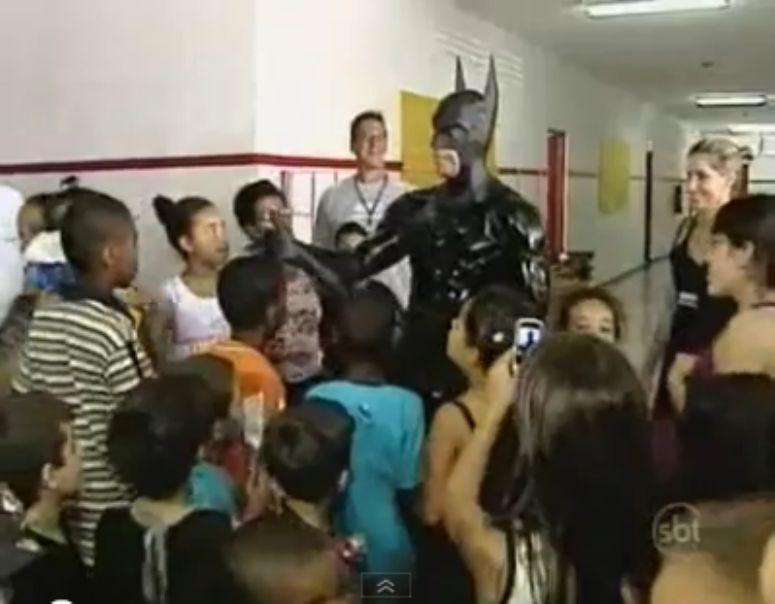 Brazylijska policja zatrudniła Batmana