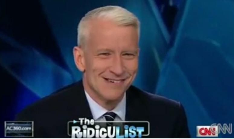 Prezenter CNN Anderson Cooper wyśmiał tradycję śmigusa dyngusa