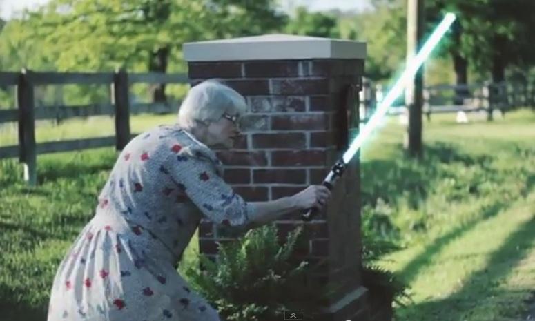 Babcia Jedi przywraca porządek