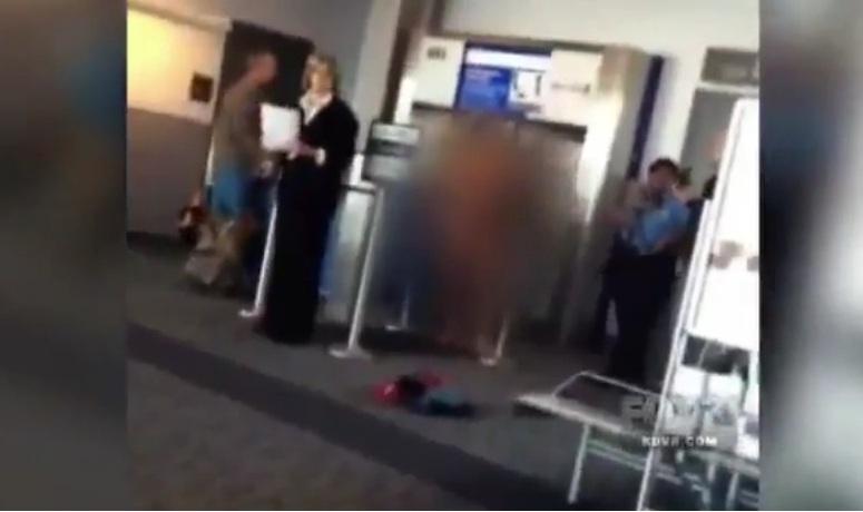 Kobieta rozebrała się do naga na lotniksu w Denver