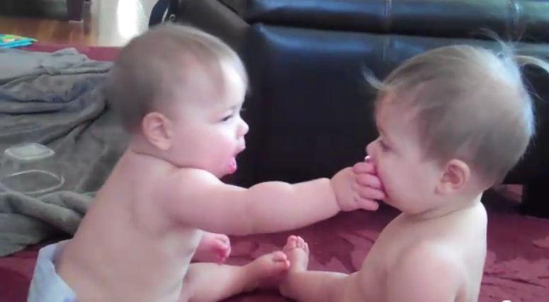Pokojowa wojna niemowlaków