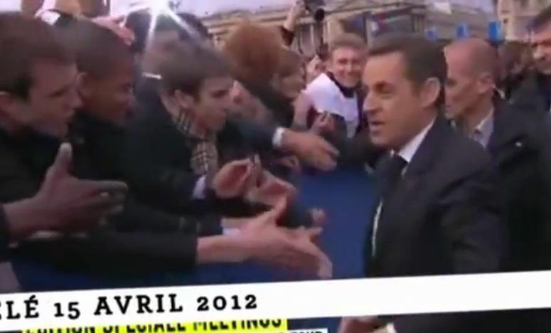 Nicolas Sarkozy schował przed wyborcami zegarek za 55 tys. euro