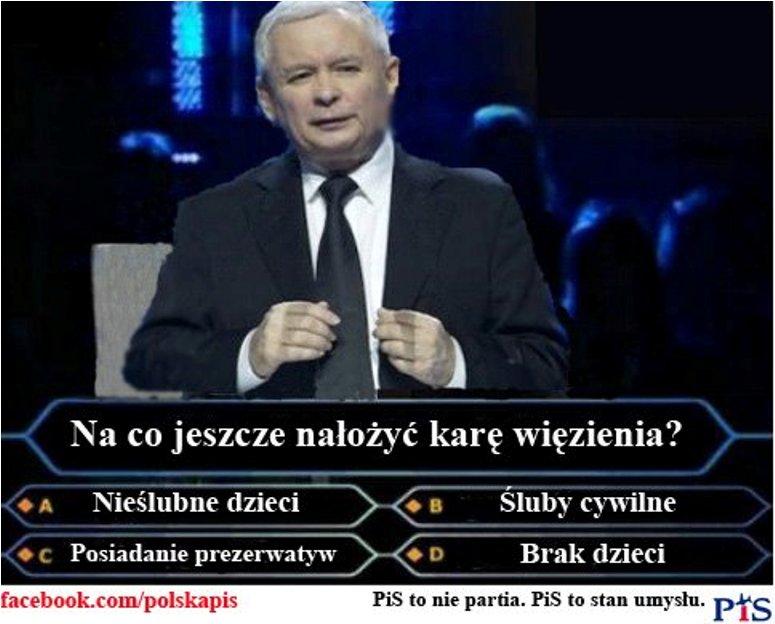 """Jarosław Kaczyński jako uczestnik """"Milionerów"""""""
