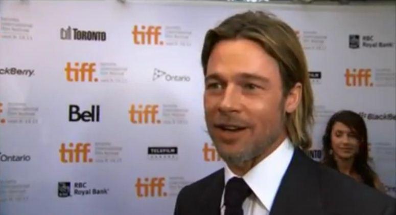 Brad Pitt o EURO 2012