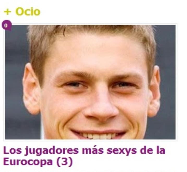 Łukasz Piszczek wśród najseksowniejszych piłkarzy Euro 2012 według hiszpańskiego portalu dla gejów
