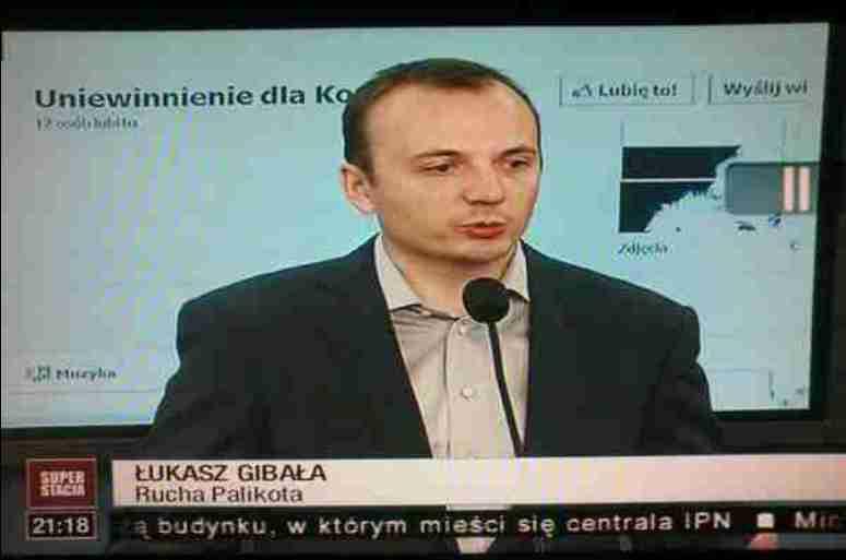 Łukasz Gibała Rucha Palikota