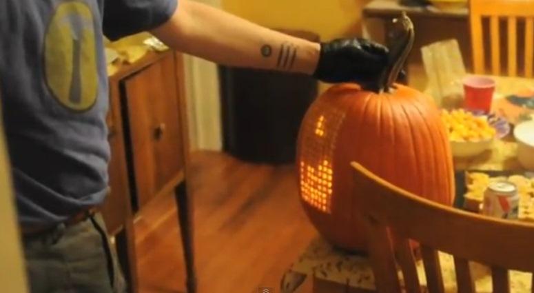 Pumpktris - idealna dynia na Halloween