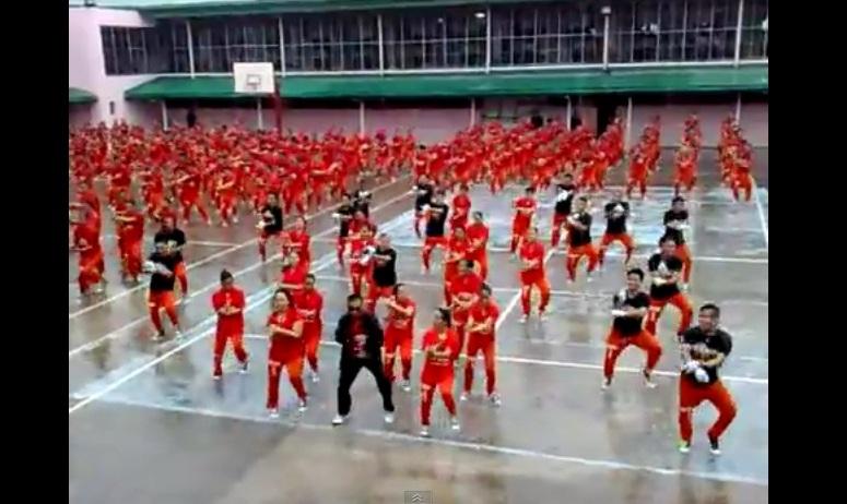 Gangnam Style w wykonaniu filipińskich więźniów