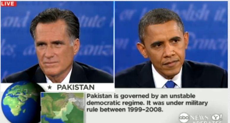 Wpadka podczas debaty prezydenckiej w USA