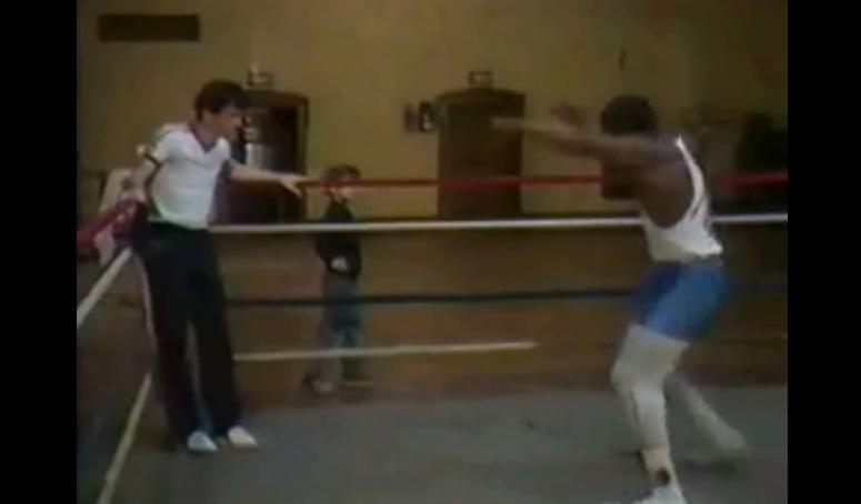 Trening 15-letniego Mike'a Tysona