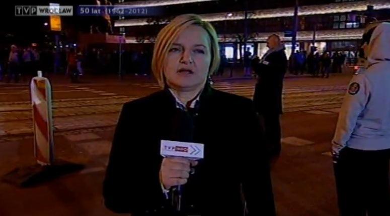 """Urszula Bąk """"relacjonuje"""" wydarzenia 11 listopada we Wrocławiu"""