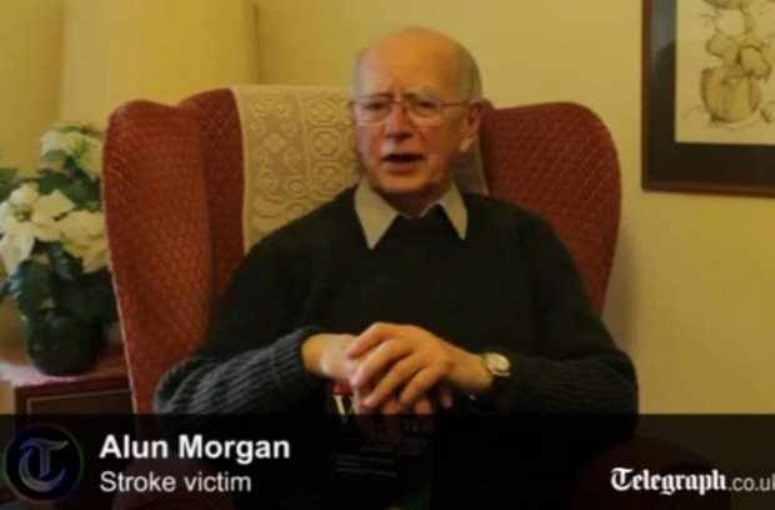 Alun Morgan - po wylewie zaczął mówć po walijsku