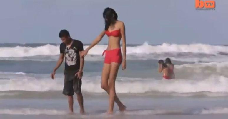 Najwyższa nastolatka na świecie ma chłopaka