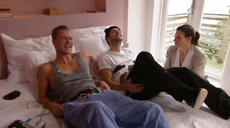 Dennis Storm i Valerio Zeno zostali poddani eksperymentowi porodowemu
