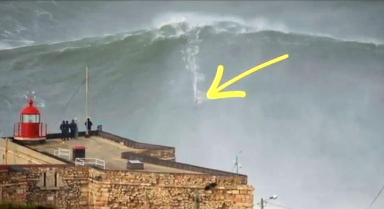 45-latek z Hawajów pobił rekord świata w surfowaniu