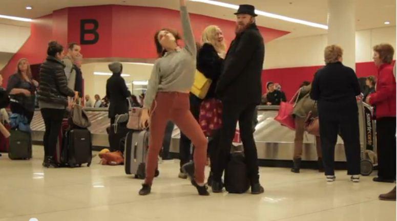 Angela tańczy jak nikt nie patrzy