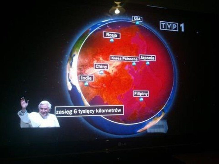 Benedykt XVI, a próbą jądrowa Korei