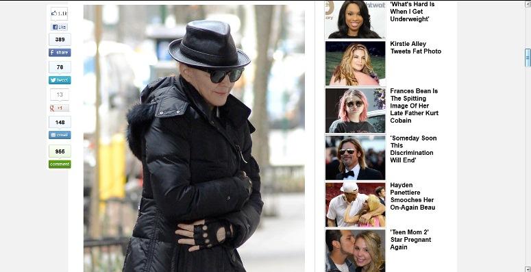 Huffington Post opublikował zdjęcie Madonny bez makijażu