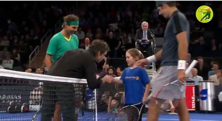 Ben Stiller ograny w tenisa przez małą dziewczynkę!