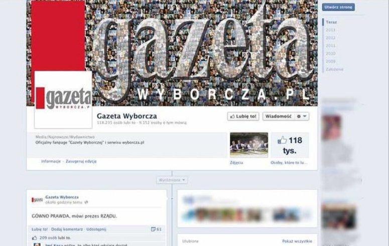 G..no-prawda na FanPage'u Gazety Wyborczej