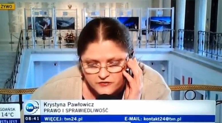 Krystyna Pawłowicz o Marszu Szmat
