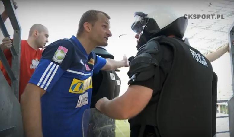 Kłótnia Zbigniewa Małkowskiego z policją
