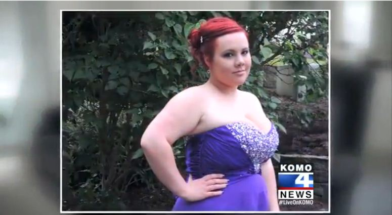 Nie została wpuszczona na bal maturalny przez za duże piersi