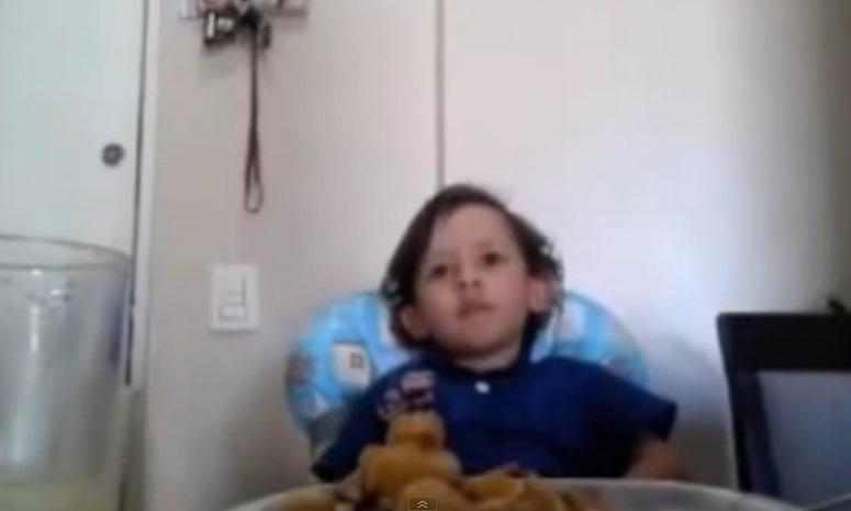 Luiz Antonio - 3-letni wegetarianin