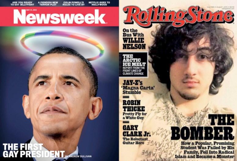 """Najbardziej kontrowersyjne okładki według """"Washington Post"""""""