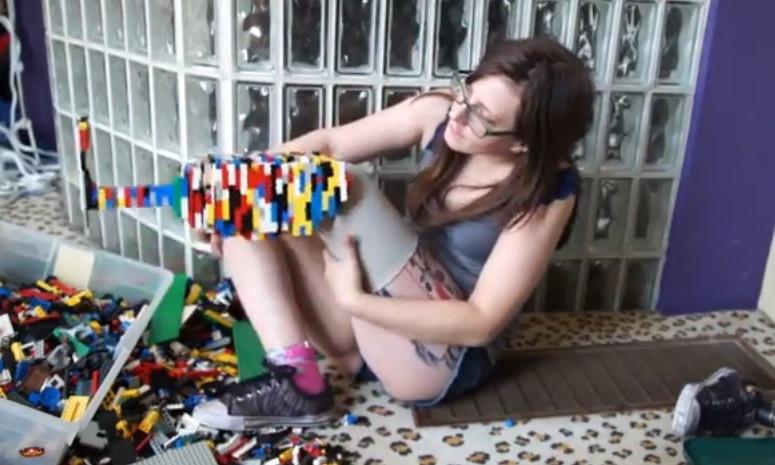 Christina Stephens zbudowała protezę z klocków Lego