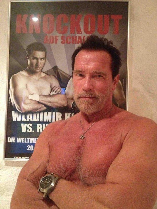 Schwarzenegger na te Kliczki