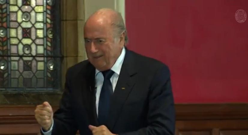 Blatter parodiuje Ronaldo